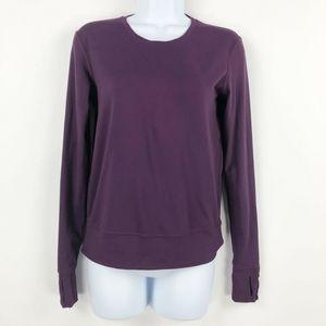 LULULEMON 2 Long Sleeve Pullover Top Purple
